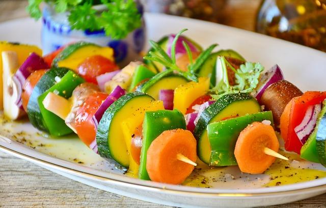 broichette de légumes