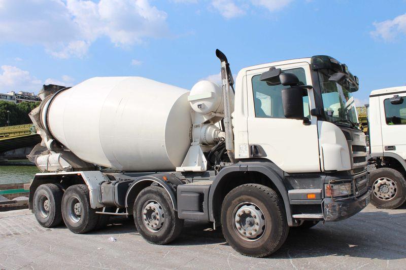 camion à pompe